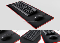 Big custom printed gaming Rubber Mouse Pad with stitching edge/custom mouse pad, XXL Large wholesale waterproof Gaming mouse pad