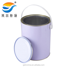 5L Metal bucket paint can