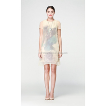 New stylish silk drapery fabric for women's dress