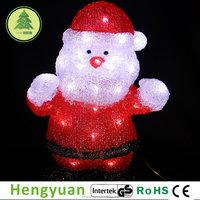 Acrylic Santa Claus Christmas Decoration Light