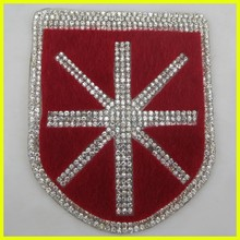Fashion Crystal Decoration Rhinestone Patch For Shoes Decoration