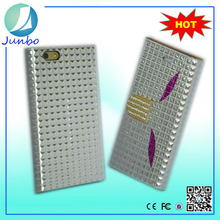 High quality bling jeweled best cell phones cases for iphone 6