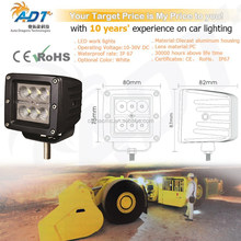 Heat less CE RoHs IP67 E-MARK LED work light for diggers, excavators, dump-trucks, loaders, handlers, road-roller, bulldozer