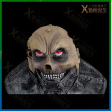 ferocious minos armed skeleton mask evil solider