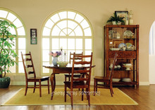 Antique original design 100% solid wood dining chairs on sale