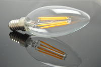 120 Volt 2200K E12 UL Decorative ul B10 C32 C35 LED Filament Bulb