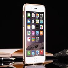 Dual color metal aluminium for iphone 6 bumper case