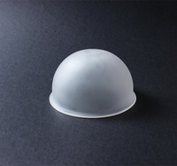 china manufacturer bowl shape bulk led street lighting outside frosted blown pyrex glass lamp shade and cover for sale