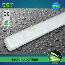 CE Rohs 1200mm 4FT 40W 50W IP65 LED waterproof light LED tri-proof lights