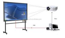 2015 Newest 82 inch interactive whiteboard for school IR smart board