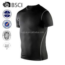 2015 new model men's running shirt dri fit