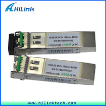 10G 1550nm 80km SFP Module Compatible Cisco Router With SFP Port Transceiver