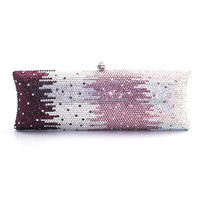 Graceful Handmade Ladies Bridal Wedding Crystal Rhinestone Party Evening Clutch Bag