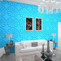 bamboo fiber embossed wall panel 3d for background