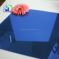 dark blue reflective glass /tinted reflective glass commercial building