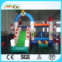 CILE Fun Inflatable Combo Bouncing Games for Kiddies