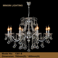 8L No1381 turkish crystal chandelier light istanbul