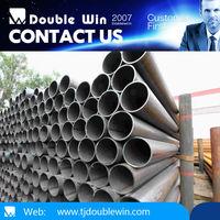 Galvanized ERW black round steel pipe stkm13a weight