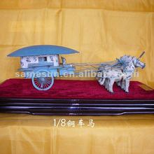 Small horse and carriage gift for Christmas gift