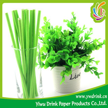 Crazy Party Supplies Pure Color Green Funny Drinking Straw Manufacturer