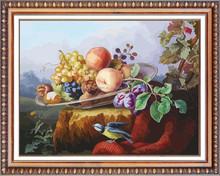 fruit diy diamond painting 5d mosaic wall painting