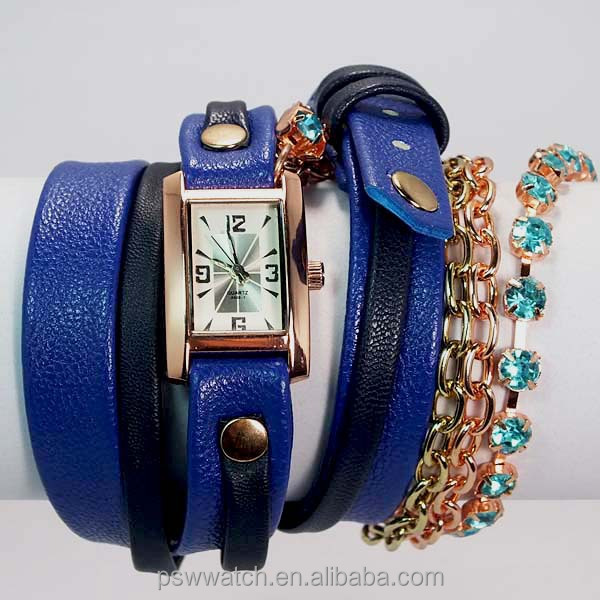 2015 china alibaba product,long chain watch,lady fashion watch
