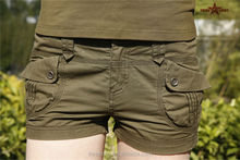 Custom women sexy booty shorts