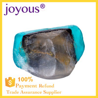 private label gifts boutique hotel OEM handmade Clearly Natural Rainforest Glycerin Bar Soap attractive transparent style