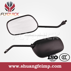 FLYQUICK motorcycle motorbike racing bike side mirror plastic mirror for TITAN2000,cheap motorcycles mirrors for sale