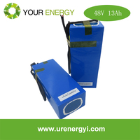 48V 13.2Ah 48 volt battery li-ion battery pack with long cycle life