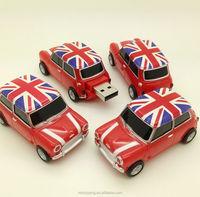 Hot England Mini cooper car shape USB 2.0 8GB flash drive memory stick pendrive