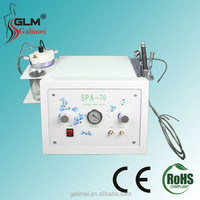 2014 crystal microdermabrasion / high pressure water spray machine for acne removal