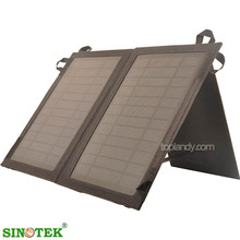SINOTEK solar power charger foldable solar panel price cheap with charger