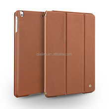 2015 Hot sale top genuine leather cover ultra slim case For iPad Air
