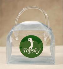 Top Quality Pet/Pvc Big Zipper Plastic Bags