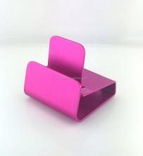 Hot iDock 3 Pink Aluminium Universal Cell Phone Desk Holder