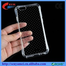 Luxury Ultra Non-Slip Thin TPU Case For iPhone 6 Clear Shell,Soft Back Cover For Apple iPhone6 Plus