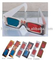 3D Polarized Glasses, Paper material