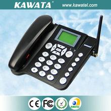 2014 nueva tarjeta sim de escritorio inalámbrico GSM teléfono fijo