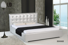 Germany standard,high headboard soft bed with pu leather and full size #BD006R