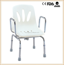 Stainless steel swivel shower chair for handicapped and elder RJ-X791S