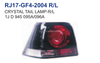 crystal tail lamp for VW GOLF4 98 02
