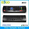 White color computer keyboard and mouse MX3 Multi-function remote controller for android tv box