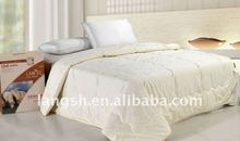 New Design!100%Cotton Quilted Wool Queen Adults Comforter