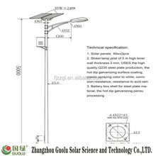 25w Single arm basketball pole height CE Rohs IP65 park light