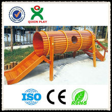 Garden equipment roller slide for children's wooden slide/wooden playsets QX-078E