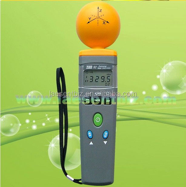 Emf Tester campo eletromagnético Tester ElectroSmog medidor TES-92