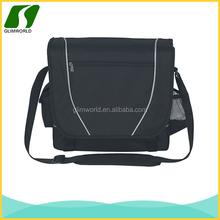 Promotional cheap custom colorful side waterbottle pocket multifunction chrome messenger bag