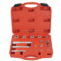 17Pc Aluminium Universal Wheel Bearing Race Seal Bush Install Driver Garage Clutch Axle Housing Bearing Auto Repair Tool Set