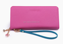 Alibaba China Top Brand Classic leather woman wallet
